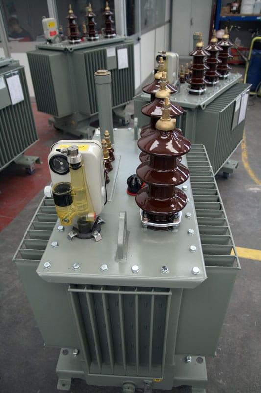 Oljeisolerade transformatorer från Unitrafo