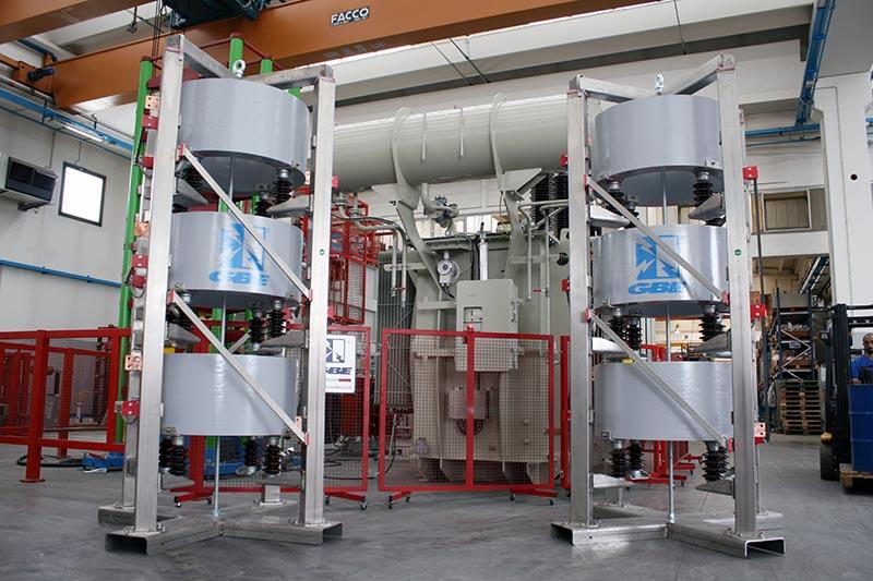Reaktorer från Unitrafo